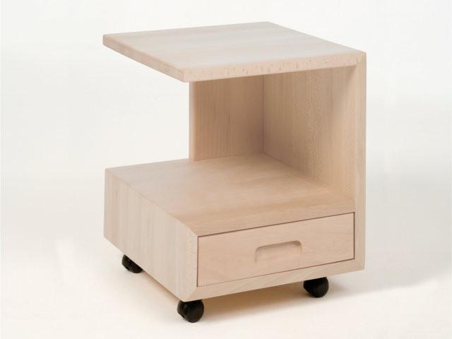 beistelltisch g form hochwertiger nachttisch aus. Black Bedroom Furniture Sets. Home Design Ideas