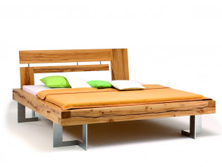 balkenbett selber bauen. Black Bedroom Furniture Sets. Home Design Ideas
