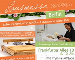 BettKonzept DIY-Messe Berlin