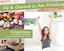Fit ins Frühjahr | Eventkalender | Frühlingssalat bei BettKonzept