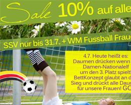 Wir drücken unseren Frauen die Daumen - WM