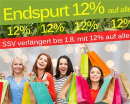 SALE Endspurt: 12% Summer SALE + Schnäppchenmarkt