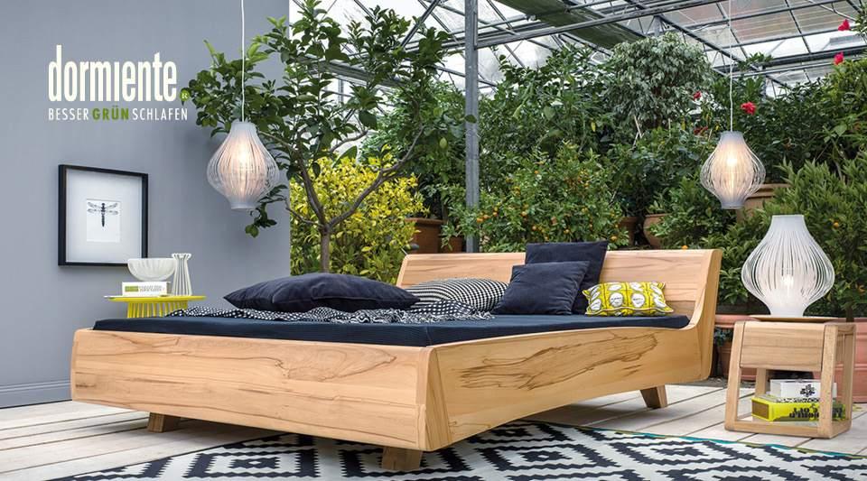 massivholzbetten von dormiente. Black Bedroom Furniture Sets. Home Design Ideas