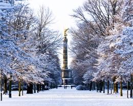 Der Große Tiergarten in Berlin