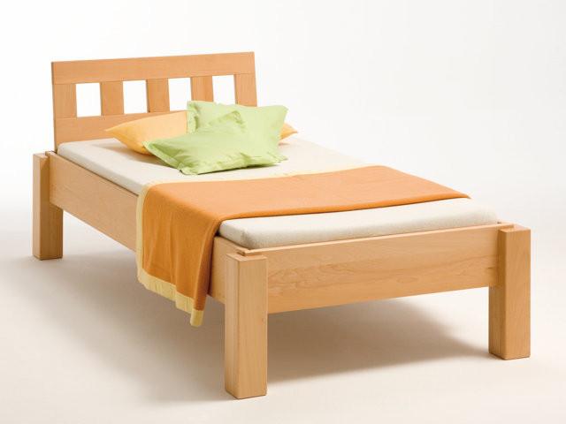 Einzelbett  Metallfreie Einzelbetten aus Massivholz bei BettKonzept