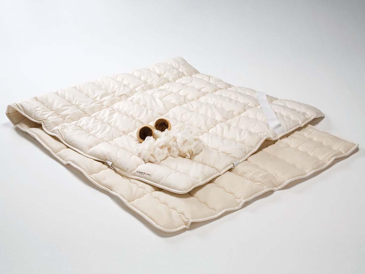 Baumwoll - Unterbett