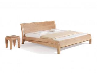 Dormiente Massivholzbett Beluga Kirsche