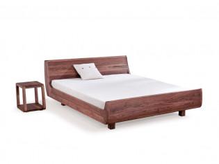 Dormiente Massivholzbett Mola Nussbaum