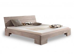 SALE Einzelbett PURE, 200x100cm, Buche weiß geölt, SKH 39cm, ET 12,5cm, Lehne Pure