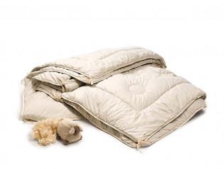 Schafschurwoll - Kombi - Steppbett freisteller