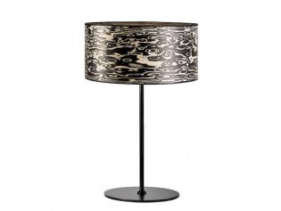 Arboreus 2 Tischlampe | Holz Furnier Nero