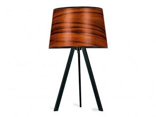 Attica Tischlampe | Holz Furnier Lampe Tineo