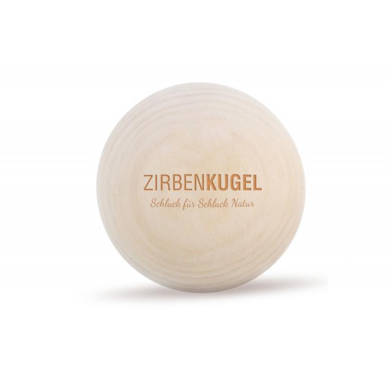 ZirbenKugel Herz Edition Gravur: Herz Edition