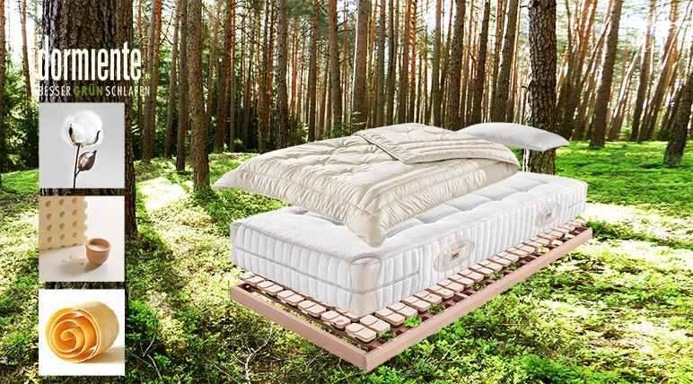 Dormiente-Naturmaterialien