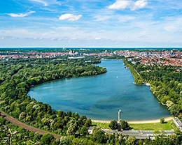 Der Maschsee in Hannover
