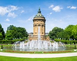 Mannheim Quadrate und Unoversitätsstadt
