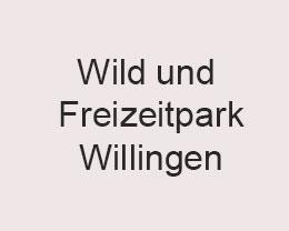 Wild und Freizeitpark Willingen