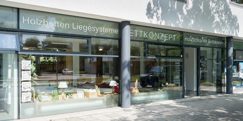Bettkonzept Store München Massivholzbetten Möbel Ausstellung
