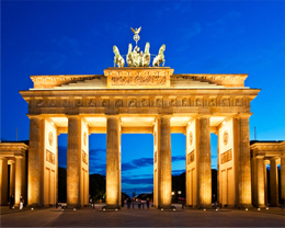 Das Brandenburgertor in Berlin