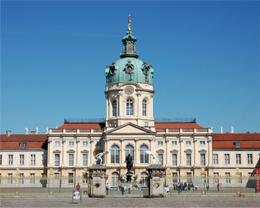 Das Schloss Charlottenburg in Berlin