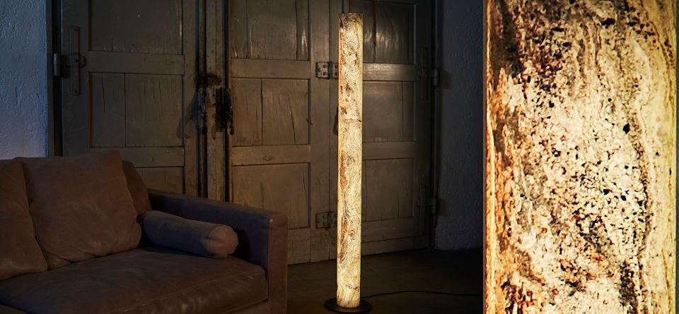 Stehlampe Columna