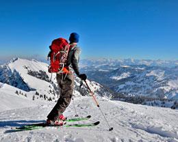 Skigebiete in der Nähe von München