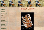 Website Screenshot Tree-Art-Gallery