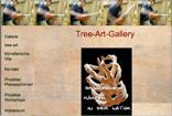 Website Screenshot Tree-Art-Gallery